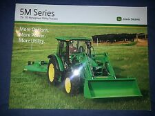 "John Deere ""5M Series"" Tractors Catalog Brochure Leaflet"