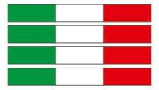 AUTO ADESIVO BANDIERA ITALIA Set ri (Italia Italy AUTO MOTO BARCA CAMION)