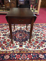 Hickory Chair Mahogany Pembroke Table - Delivery Available