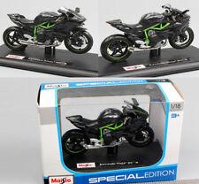 USA Maisto 1:18 Kawasaki Ninja H2R Motorcycle Moto Diecast Car Model Vehicle Toy