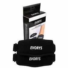 Elbow Support Braces with Compression Pads 2 Pack Premium Quality By Evorys