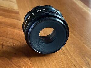 Vintage Genuine Nikon 75mm f4 El Nikkor Enlarging Lens with Case Made in Japan