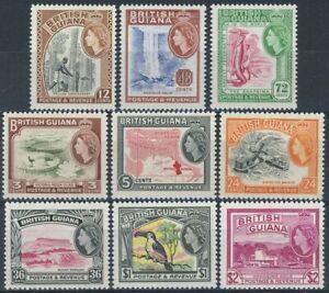 sa4751 British Guiana - Sc#279-87 Hinged