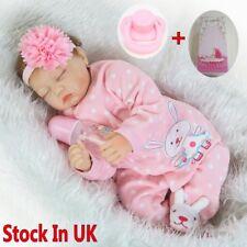 """Npk simulazione Bambole 22"""" Realistico Handmade Soft Vinyl Reborn Toddler Doll"""