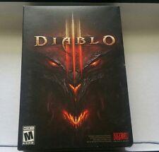 Diablo III 3 - Windows PC DVD COMPLETE BOX (NO KEY)
