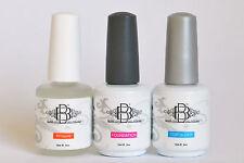 Large UV LED Soak off gel polish set base & top coat with HALF PRICE PH bond