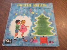 33 tours PAULETTE ROLLIN chante pour les enfants 10 chants de noel