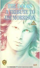 THE DOORS A Tribute To Jim Morrison ORIGINAL 1988 VHS tape PSYCH Ray Manzarek
