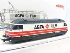 Märklin H0 83463 E-Lok Re 4/4 460 015-1 Agfa Film SBB CFF FFS Delta OVP (V3052)