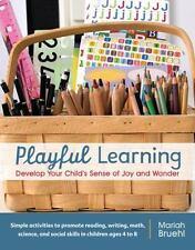 PLAYFUL LEARNING - BRUEHL, MARIAH - NEW PAPERBACK BOOK