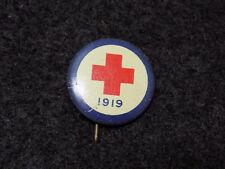 WWI Era American Red Cross 1919 Metal Badge