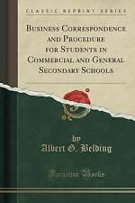 Business Correspondence and Procedure for Students in Commercial and General Sec