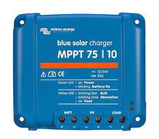 Régulateur de charge solaire MPPT 10A 12/24V Victron Bluesolar 75/10