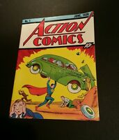 Action Comics # 1 1938 Oversized Golden Age Replica  1st Appearance of Superman