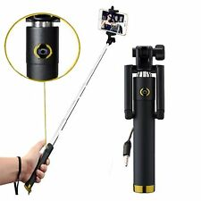 Selfie Stange Stick AUX Lightning ALDI Medion Life E4506 Selfiestick Kabel Gold