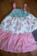 Matilda Jane Knot Dress SZ 8 Apron
