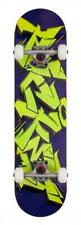 Rocket Drips Graffiti Complete Skateboard, 8""