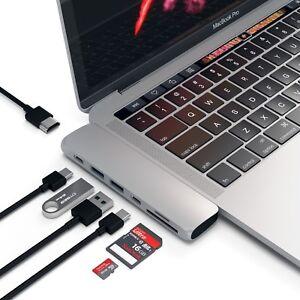 Satechi Pro USB- C HUB USB 3.0 Thunderbolt 3.0 HDMI for Apple Macbook pro 13 15
