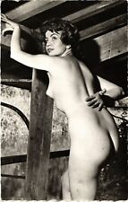 CPA femme. NUDE RISQUE real photo (500191)