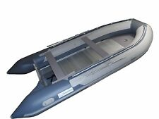 15.4 ft Roll Up Inflatable Boat Aluminum Floor Dinghy Yacht Tender Fishing Raft