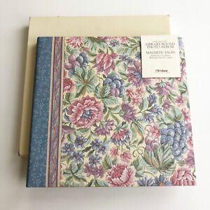 "VTG C.R.Gibson Lillian August ""Tapestry"" Unimount Magnetic Photo Album NEW w Box"