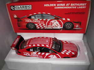 CLASSIC 1/18 HOLDEN COMMODORE HOLDEN WINS AT BATHURST COMMEMORATIVE LIVERY 18738