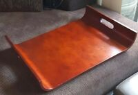 Vintage MCM Bent Plywood Serving Tray A