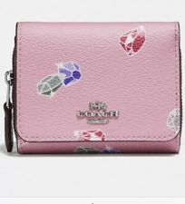 Disney X Coach Small Trifold Wallet With Snow White And The Seven Dwarfs Gems