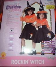 ROCKIN' WITCH Toddler COSTUME 2-4 NEW Sock Hop 50's 3pc GIRLS Swing Skirt HAT