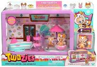 Twozies Playful Cafe Playset Baby and Pet Play Set Childrens Kids Toy Toys GIFT