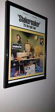 Oasis - Shakermaker- framed  promo poster