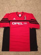Adidas AC MIlan Soccer Jersey Sz XL Made In Italy