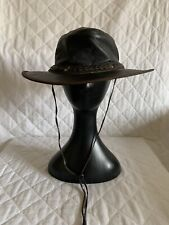 UNBRANDED Crushable Leather Outback Hat Size XL