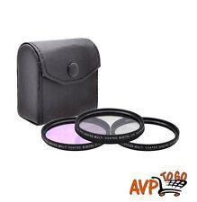 46MM Pro Series Multi Coated HD 3PC Digital Filter Set