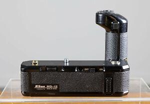 Mint Nikon MD-12 Motor Drive For Nikon FE FM FM2 FM2N FM3A  Tested/Guaranteed!