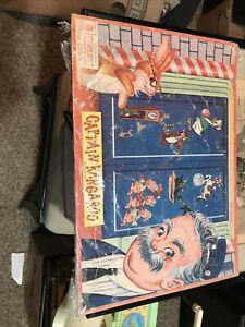 Captain kangaroo Milton Bradley Aptitude Puzzle 1956 14 x 10