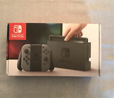 Nintendo Switch HARDWARE BOX ONLY - Grey - Good Condition