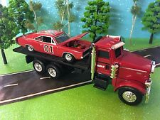 DUKES of HAZZARD #01 Custom General Lee & Peterbilt Model 367, 1/64 Custom Set