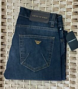 Men's Emporio Armani Jeans Denim Slim fit Blue 34L