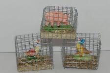 Pellegrini Ducks Pig Figurines Nativity Scene Miniature Farm  Pesebre Animales