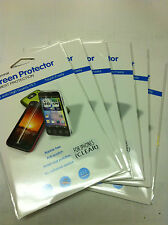 6X Clear LCD Screen Protector Cover Film for New Apple iPhone 5 5G