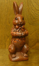 Jim Shore Heartwood Creek #4023995 YUMMY BUNNY, Easter Chocolate Bunny, 8.75""