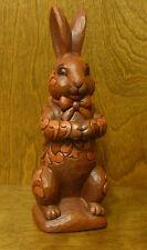 "Jim Shore Heartwood Creek #4023995 YUMMY BUNNY, Easter Chocolate Bunny, 8.75"""