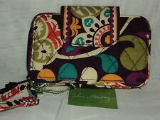 Vera Bradley Plum Crazy Smartphone Wristlet Cotton Floral Multi-Color $41