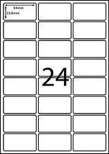 Avery L7159 A4 Labels Compatible - 100 sheets -24 labels page **  L RANGE