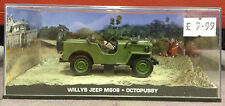 James Bond Car Collection Willys Jeep M606 Octopussy MIB