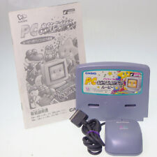 PC collection Set Cart + Mouse +Manual Casio Loopy MY SEAL COMPUTER Japan Import