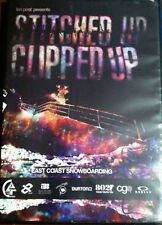 Stitched Up Clipped Up East Coast Snowboarding DVD Extreme Sports