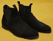Acne Studios Black Suede Ankle Boots Size 9 (42)