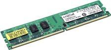 4 GB DDR2 RAM (2 x 2GB) SODIMM, Crucial & Samsung